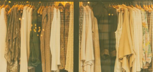 Rail of coats