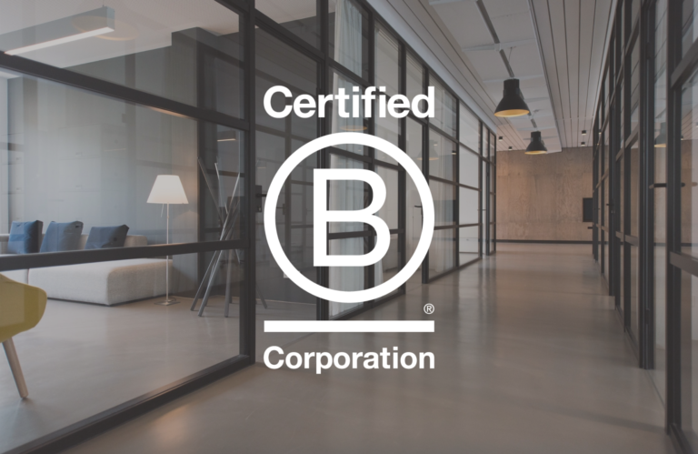 Standing on Giants is a certified B Corp