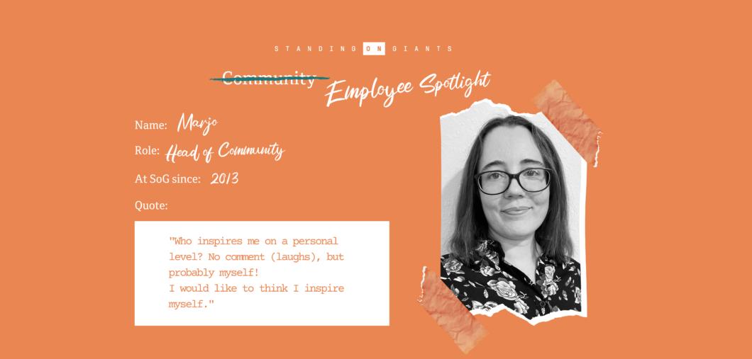 Employee Spotlight - Marjo Hallapera - HoC Lenovo Legion Gaming Community